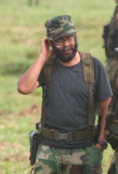 Foto de archivo del actual líder de las FARC, Alfonso Cano