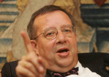Toomas Hendrik Ilves en 2007.