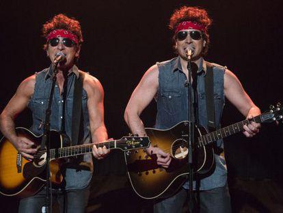 Bruce Springsteen y Jimmy Fallon en el programa del presentador estadounidense.