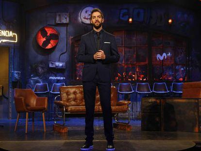 El humorista David Broncano durante la presentación del programa 'La resistencia', en enero de 2018.