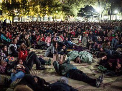 La residencia oficial de Los Pinos, en el centro de Ciudad de México, inaugura su primer gran evento cultural con la proyección de la película 'Roma', gratis para unos 3.000 asistentes