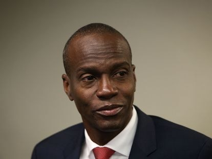 Jovenel Moïse en Washington, el 20 de abril de 2016, cuando aún era candidato a la presidencia de Haití.