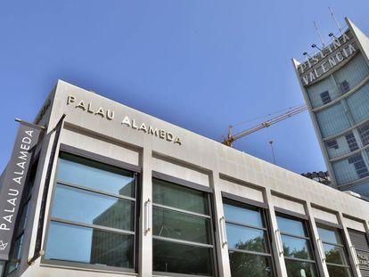 Las instalaciones modernizadas del Palau Alameda.