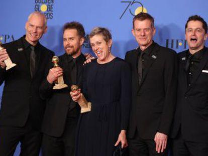 Hollywood aprovecha la gala para lanzar un grito contra el acoso sexual. Guillermo del Toro obtiene el premio a mejor dirección por  La forma del agua
