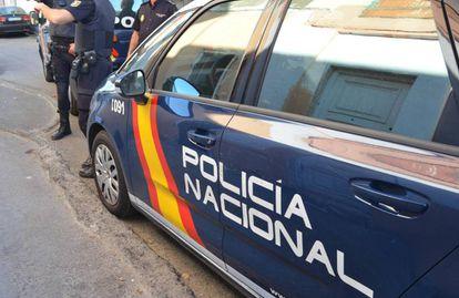 Patrulla de la Policía Nacional.