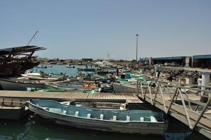 Puerto de Yibuti, Etiopía.