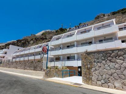 Centro de acogida de menores inmigrantes, ubicado en los apartamentos Puerto Bello.