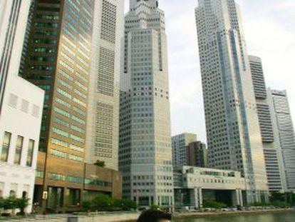 Singapur es un polo de atracción de grandes fortunas.