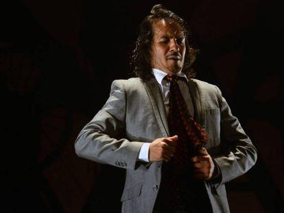 Juan Fernández Montoya 'Farruquito' en el Festival de las Minas.