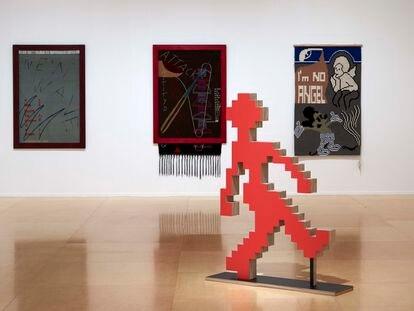Vista de la exposición de Charlotte Johannesson en el Museo Reina Sofía, en Madrid.