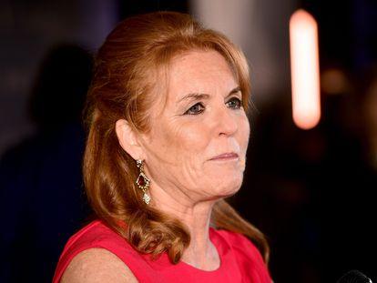 Sarah Ferguson, en una gala celebrada en Londres el pasado octubre.
