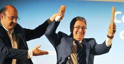 Sebastián Pérez pide un aplauso para Zoido en la junta directiva de Granada.