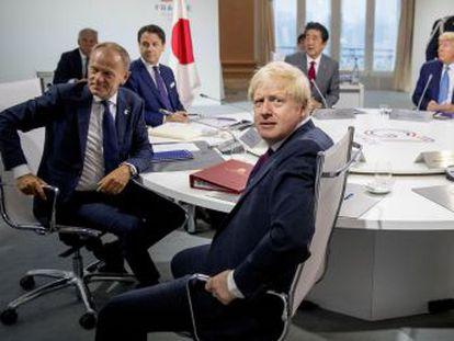 Mohamad Javad Zarif, que aterrizó este domingo en la cumbre del G7 en Biarritz, es objeto de sanciones por parte de Estados Unidos