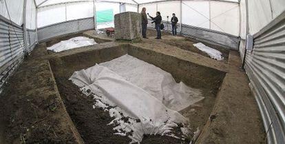 Excavaciones en Alfacar en 2009.