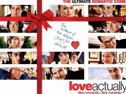 Cartel de la película 'Love Actually' de 2003.