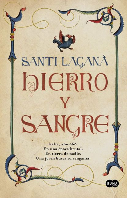 Cover of 'Iron and blood', by Santi Laganà.