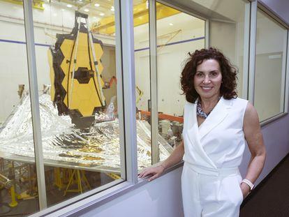 La astrofísica gallega Begoña Vila, una de las responsables de los instrumentos del telescopio espacial 'James Webb'.