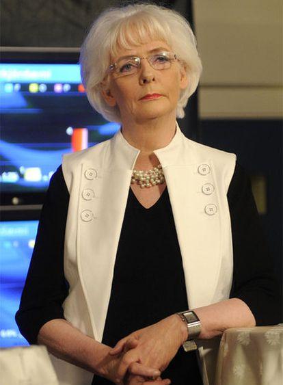 Jóhanna Sigurdardóttir, primera ministra de Islandia.