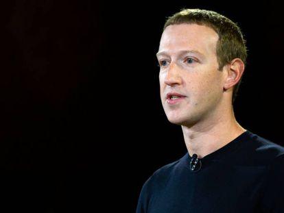 Mark Zuckerberg, fundador y CEO de Facebook, en 2019.