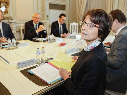La comisaria europea de Empleo de la UE, Marianne Thyssen.