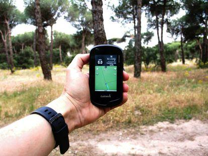 Navegardor GPS.