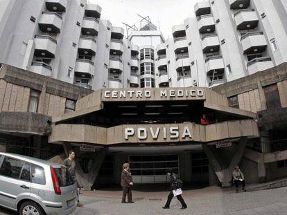 El hospital Povisa en Vigo.