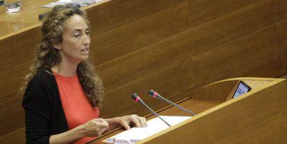 La portavoz de Ciudadanos en las Cortes Valencianas, Carolina Punset.