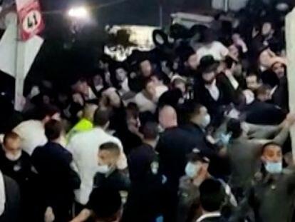 Vídeo | Así ha sido la avalancha en Israel en la que han muerto al menos 44 personas