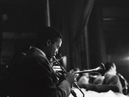 Quincy Jones. Músico, Buenos Aires, 1956