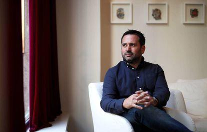 Álvaro Bilbao, durante la entrevista.