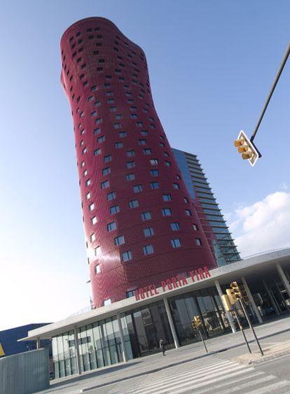 Las torres proyectadas por Toyo Ito en Barcelona.