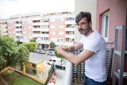 Sergio Benito, en su casa de Mijas (Málaga).