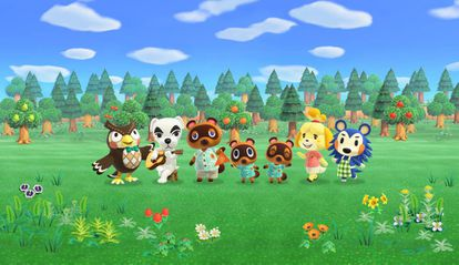 Una imagen del videojuego 'Animal Crossing: New Horizons'.