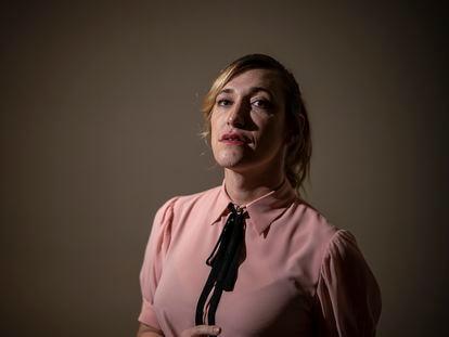 Abril Zamora, guionista, directora y protagonista de la serie 'Todo lo otro', en Madrid la semana pasada.