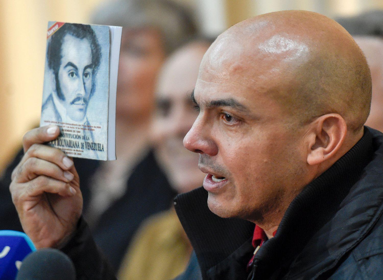 El exgeneral venezolano Clíver Alcalá, en 2016.