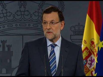 """Rajoy: """"Esa consulta es inconstitucional y no se va a celebrar"""""""