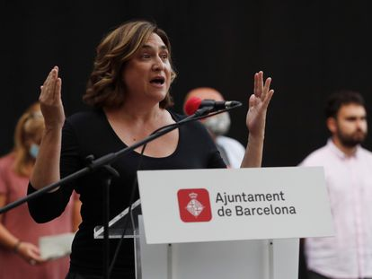 La alcaldesa de Barcelona, Ada Colau, en una imagen de archivo.