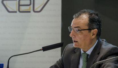 Salvador Navarro, presidente de la Confederación Empresarial Valenciana (CEV).