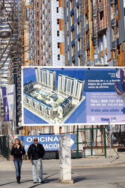 Una promotora oferta viviendas nuevas en Valencia.