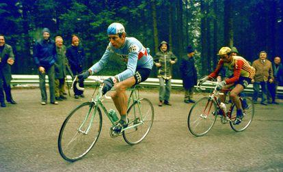 Felice Gimondi, en el Giro de 1978.