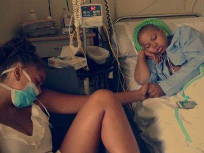 Ivie enfermó de cáncer en la preadolescencia, cuando más se sufre el efecto de los tratamientos, según los expertos