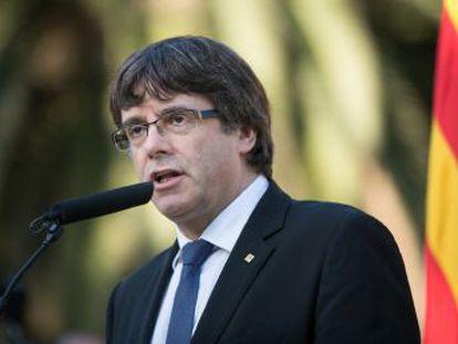 El presidente de la Generalitat pide que acabe la  represión contra el pueblo catalán  y solicita una reunión para llegar a acuerdos