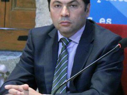 Salvador González Solla, alcalde de Ponteareas (PP).