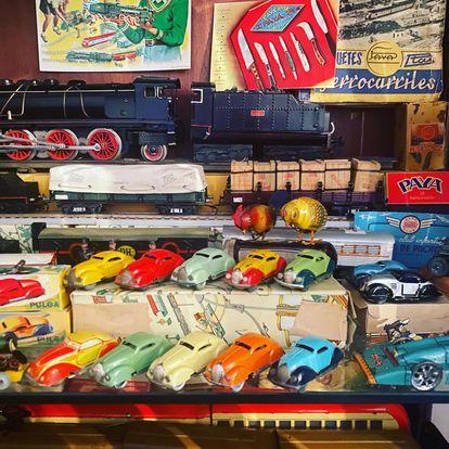Modelos de coches de la compañía juguetes Payá.