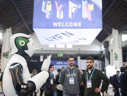 La feria de 'startup' FY4N, el año pasado.