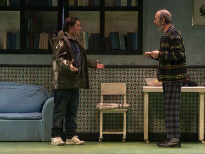Secun de la Rosa y Miguel Rellán en 'Los asquerosos'.