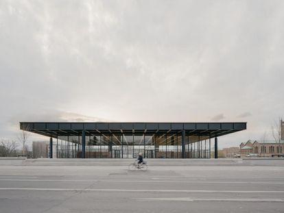 Neue Nationalgalerie, de Mies van der Rohe, tras la restauración de David Chipperfield.