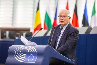 14-09-2021 Josep Borrell comparece ante el Parlamento Europeo POLITICA EUROPA INTERNACIONAL UNIÓN EUROPEA PARLAMENTO EUROPEO/FRED MARVAUX