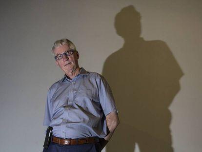 El primatólogo holandés Frans de Waal, en Barcelona en 2018.