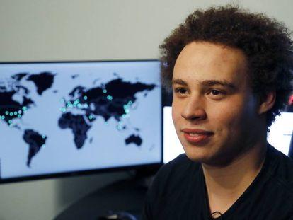 El hacker Marcus Hutchins realizó una acción clave en mayo de 2017 para detener el daño causado por el virus Wannacry.